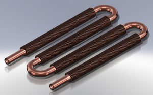 NDT finned Copper Tube